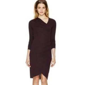 Wilfred Free Klum knit wrap dress